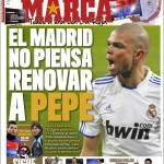 Marca: Il Real Madrid non pensa a rinnovare il contratto a Pepe