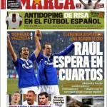 Marca: Raul spera nei quarti