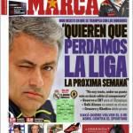 """Marca: """"Vogliono che perdiamo la Liga la prossima settimana"""""""