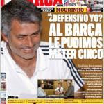 Marca: Clamoroso, Mourinho con la maglia del Real Madrid?