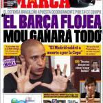 """Marca: """"Se il Barça rallenta, Mou vincerà tutto"""""""
