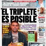 """Marca: """"Il Triplete è possibile"""""""