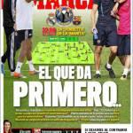 Marca: Il primo scontro