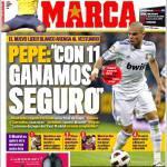 """Marca: Pepe """"In 11 vinciamo sicuro"""""""