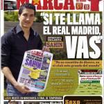 """Marca: """"Se ti chiama il Real Madrid vai"""""""