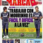 """Marca: """"Lavorare con Mourinho è facile e difficile allo stesso tempo"""""""
