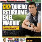 """Marca: """"Desidero ritirarmi con la maglia del Real Madrid"""""""