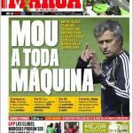 Marca: Mourinho a tutta velocità