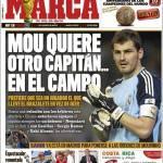 Marca: Mourinho chiede un altro capitano, in campo