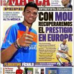 """Marca: Zidane """"Con Mourinho recupereremo il prestigio in Europa"""""""