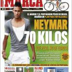 Marca: Neymar, 70 kg