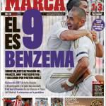 Marca: Lui è Benzema, il numero 9