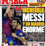 Marca: Incredibile Messi e un enorme Real Madrid