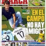 "Marca: Van Nistelrooy ""In campo non ho amici"""