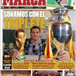 """Marca: """"Sogniamo il triplete"""""""