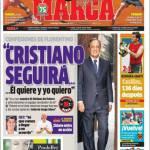 Marca, Perez: Cristiano Ronaldo seguirà i suoi desideri