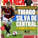 Marca: Thiago Silva come centrale