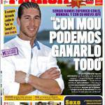 """Marca: Sergio Ramos """"Con Mourinho possiamo vincere tutto"""""""