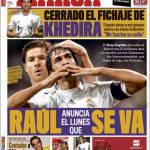 Marca: Raul annuncia che lunedì se ne va