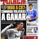 "Marca: Mourinho a Cristiano Ronaldo ""Con me tornerai a vincere"""