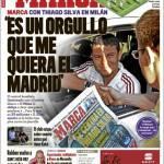"""Marca: Thiago Silva """"Sono orgoglioso dell'interesse del Real Madrid"""""""
