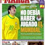 """Marca: """"Non doveva giocare il Mondiale"""""""