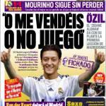 """Marca: Ozil """"O mi vendete o non gioco"""""""