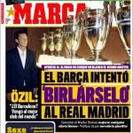 """Marca: Ozil """"Barcellona? Sono arrivato nel miglior club del mondo"""""""