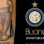 Inter, Materazzi si fa tatuare la Champions