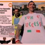 Ecco la T-Shirt 'sfottò' di Materazzi – Foto