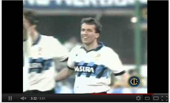 matthaus Video   Un passo nella storia: 20 marzo 1991, eurogol di Matthaus in Coppa Uefa
