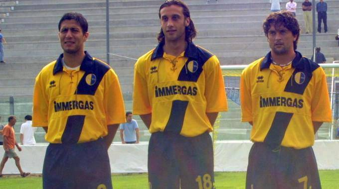 mauri5 Calcioscommesse, Mauri, Sculli e Milanetto: una foto di 10 anni fa che anticipava tutto...   Foto