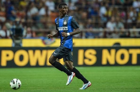 Inter Milan's defender Ibrahima Mbaye of