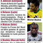 Calciomercato esterni: Inter e Juve su Bastos, Roma su Ebouè, Milan c'è Taiwo!