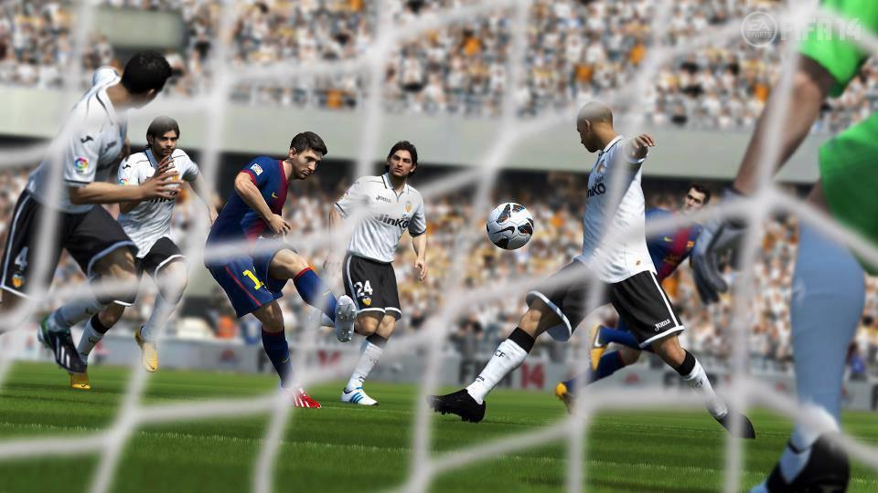messi fifa 14 Fifa 14: ecco la prima foto ufficiale del nuovo capolavoro EA Sports   Foto