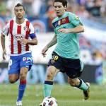 Video – Lionel Messi sfiora il gol del secolo contro il Viktoria: guarda la magia