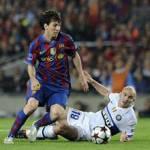 Liga, Barcellona-Siviglia 5 a 0: doppio Messi e triplo Villa! – Video
