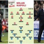 Milan-Napoli, probabili formazioni: torna Abate nei rossoneri, Mesto al posto di Maggio negli azzurri – Foto