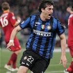 """Inter-Roma, Milito: """"Ora puntiamo gli altri due obiettivi"""""""