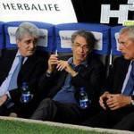 "Inter, Mourinho contro Benitez, parla Moratti: ""Rafa lavora bene"""