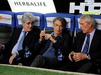 moratti60 Inter, Mourinho contro Benitez, parla Moratti: Rafa lavora bene