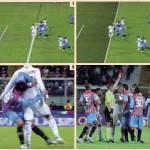 La moviola di Catania-Milan: gol in fuorigioco di El Shaarawy, ma al Milan manca un rigore! E l'espulsione di Boateng…