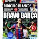 El Mundo Deportivo: Bravo Barca