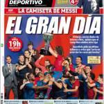 Mundo Deportivo: Il grande giorno