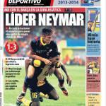 Mundo Deportivo: Leader Neymar
