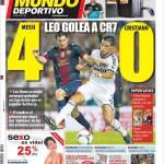 Mundo Deportivo: Messi-CR7 4-0