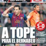 Mundo Deportivo: A tope para el Bernabeu