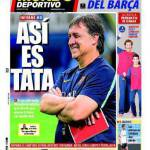 El Mundo Deportivo: così è Tata!