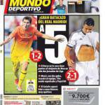 El Mundo Deportivo: Che botta del Real Madrid!