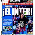 """El Mundo Deportivo: """"E ora l'Inter"""""""